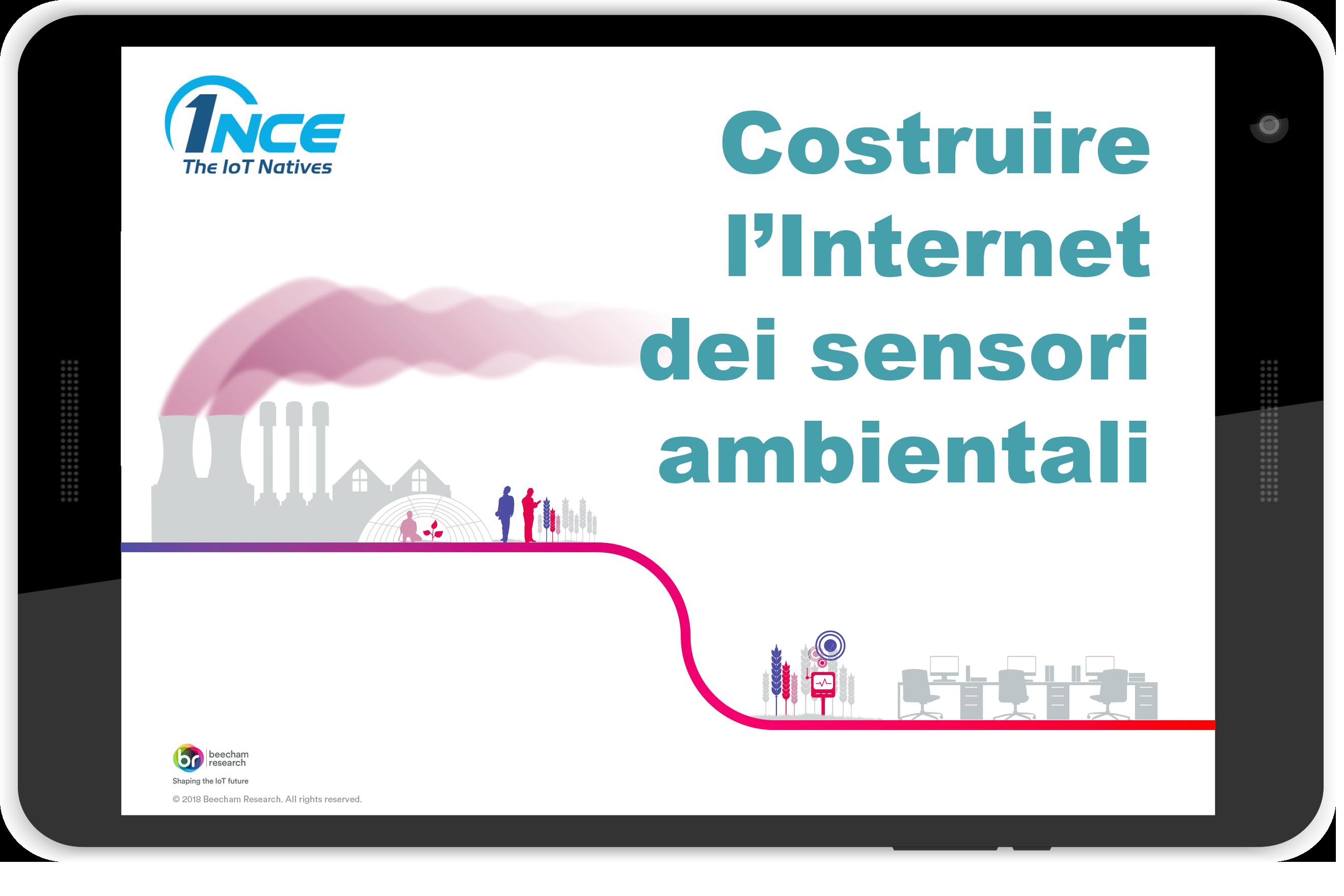 Costruire l Internet dei sensori ambientali