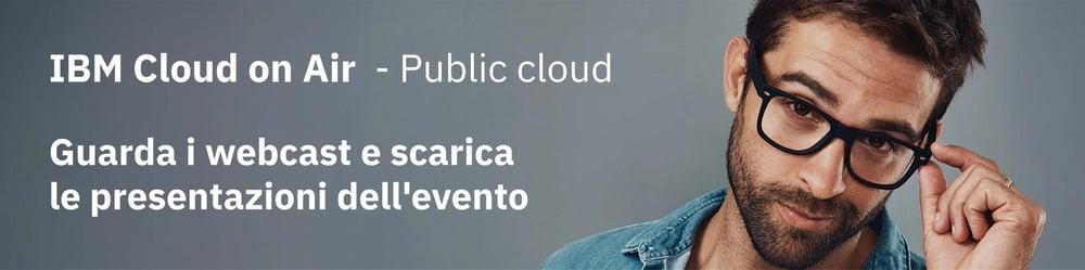 ibm cloud on air webcast slide
