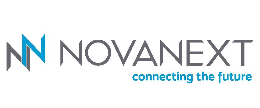Logo NovaNext a colori in bassa risoluzione